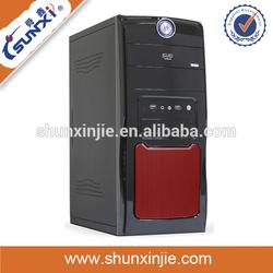 axt full horizontal branded computer case