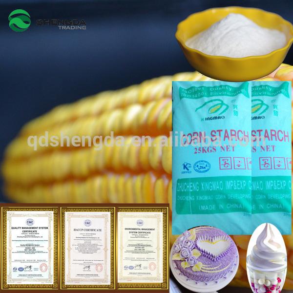 Mejor precio de almidón de maíz marcas con precio en almidón de las raíces a granel los fabricantes que venden en china