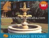 golden granite fountain