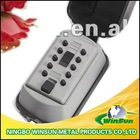 push button key safe box for security and protection