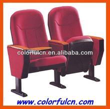 Most Cheap Popular Economical Auditorium Chair/Auditorium Seating/Auditorium Seat YA-04 With Writing Pad