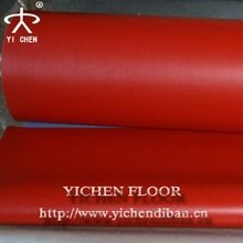 Pvc Sports Vinyl Floorings In Rolls For Indoor Table Tennis Court Use