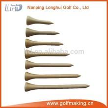 Natural Wood Golf tees