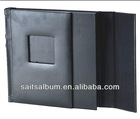 leather cover book AYV 71 slip in or peel & stick album