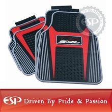 #42660 Red Super Speed Latex PVC Universal Fit Car Floor Mat