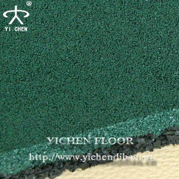 Pavimento in gomma piastrelle per esterni basket/tennis/badminton ...