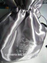 Satin drawstring bag gift drawstring bag for promotion