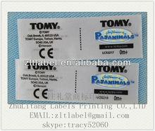 USA Direct manufacturers production Lamaze Toy labels cloth labels