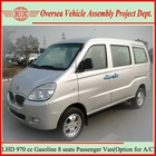 2013 High Level Standard Super Cold Air Condition Mini Vans/7+1 Seat Gasoline Mini Van