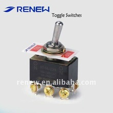 DPDT ON-ON small toggle switch(for industrial use)