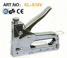 3 way hand manual staple gun tacker with GS certificate