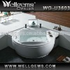 Jet whirlpool massage bathtub with tv U3603 from Foshan