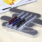 exclusive multi-fuction metal ballpoint laser pointer pen