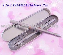 4in1 Multi function metal pen 5mw laser pointer