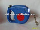 retractable dog leash /lead with led light /flashlight