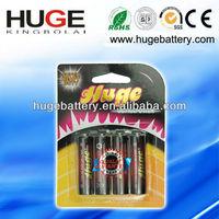 AA UM-3 R6 carbon zinc dry battery