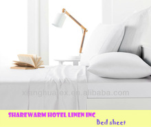 Hotel White Bed Linen/ Bed Sheet