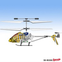 New design 3.5CH indoor rc helicopter with gyro like flying fish!