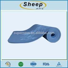 new design nbr yoga mat/round yoga mat/organic yoga mat