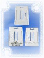 Horizontal/ Vertical badge ID card holder , plastic name badge holder , plastic card holder _PHV5