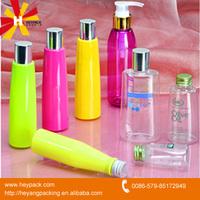 250ml clear cosmetic empty plastic bottle