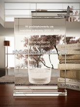 preciosa laser engravable k9 crystal award plaque