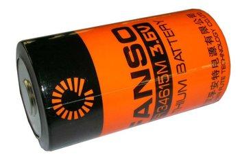 ER34615M 3.6V 14.5Ah lisocl2 battery ER34615M/T