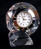 crystal clock, small crystal clock decoration