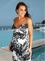 2012 senhora estilo de moda praia vestido