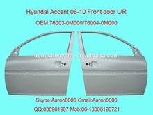 hyundai accent 06 car front DOOR panel