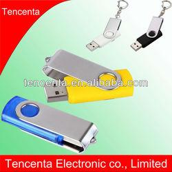 Wholesale metal swivel USB flash drive bulk cheap Shenzhen stock