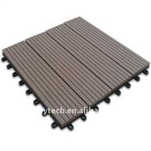WPC DIY Tile, Parquet Floor Tile, No Screw Installation