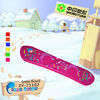 Hot Sale Kids Orange Winter outdoor plastic ski products ZY-71103-95