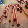 wear resistant rubber lined pipe