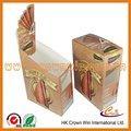 nuevo diseño del cigarro caja de papel de embalaje