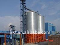 Hopper Bottom Grain Silo Bin, Rice Silo Price