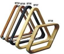 Billiard accessories:wood billiard ball triangle