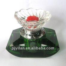 nice funnel shaped angel car crystal perfume bottle
