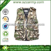 Summer Outdoor Denim Realtree Shooting & Hunting Vest