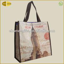 New printed PVC shopping bag