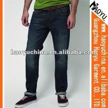 Wholesale raw denim jeans for men urban star denim jeans fashion men all denim jeans (HYM1774)