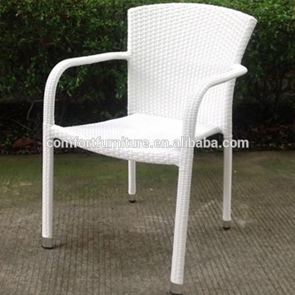 Plastic Rattan Cafe Chair