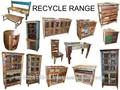 Recycling holzmöbel altholz Sammlung, industriellen möbel exporteur, industrie möbel jahrgang.