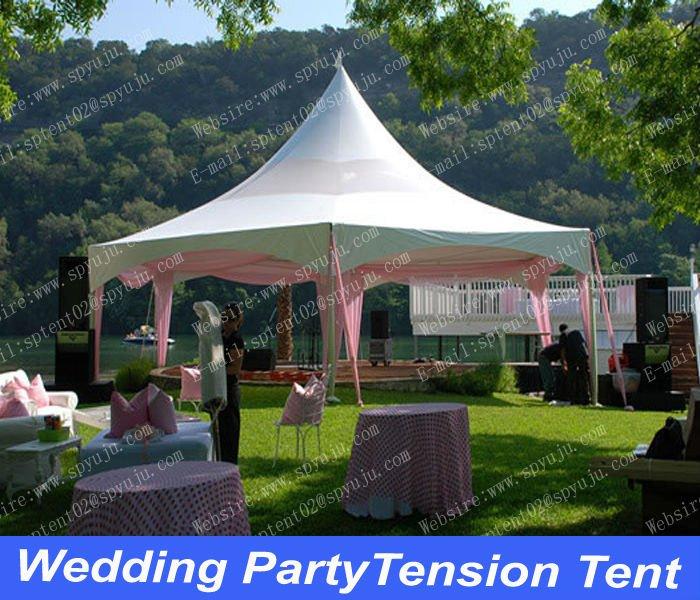 Festa ao ar livre tenda de casamento marquise& tenda branca( 6mx6m)