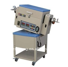 """ST-1200RTF 1200.C Tilting Rotary Tube Furnace with Tube size Dia40x300mm(1.6""""x12"""")"""
