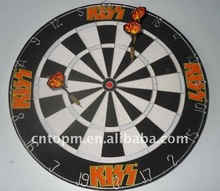 Round decorative Game board with darts in strong magnet for home/office/shcool,suitablel for over three years older
