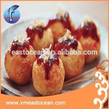 delicious food frozen octopus ball