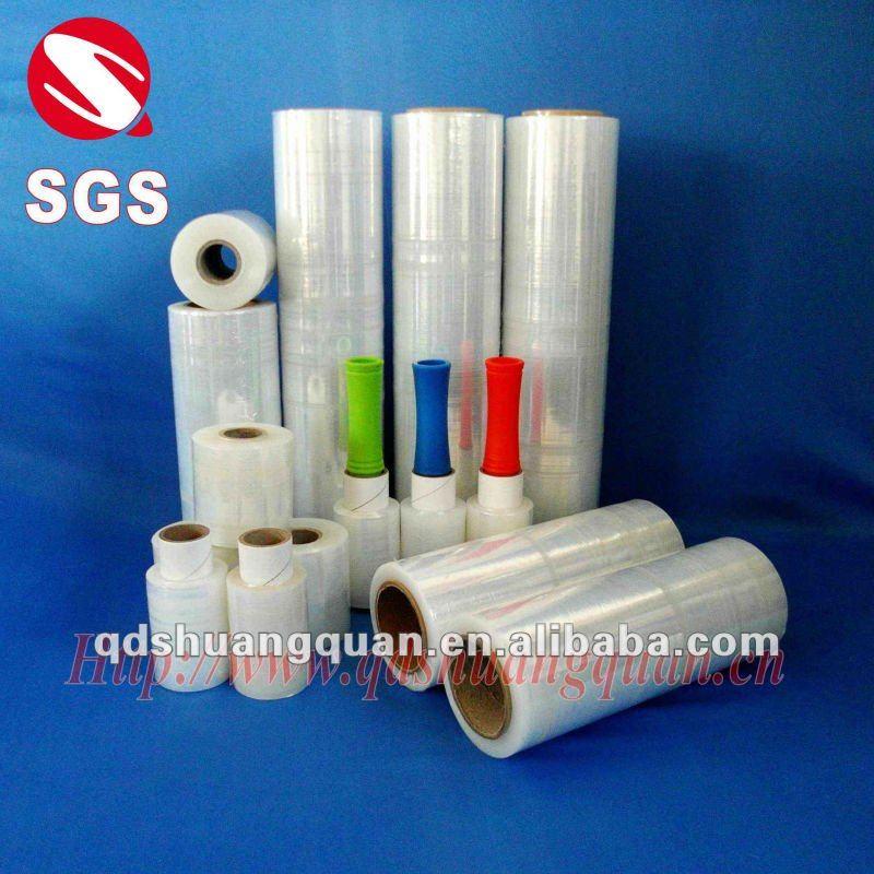 Manual roll lldpe stretch film