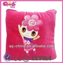 coral velvet child quilt baby quilt
