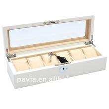 wooden watch box case